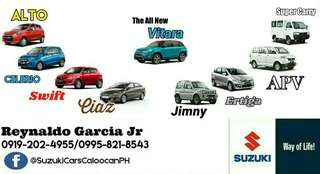 SUZUKI CARS LOW DOWNPAYMENT HIGH DISCOUNT CALL OR TEXT 0995-821-8543 / 0919-202-4955