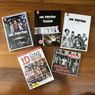 PRELOVED ONE DIRECTION ALBUMS
