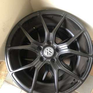 "18"" rims for volkswagon/audi"