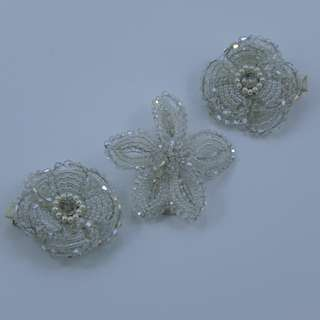 Floral Crystal Hairclip (Assorted)