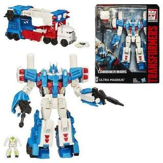 [SALE] [CASH ONLY] Generations Combiners Wars - Leader Wave 3 - Ultra Magnus - Transformable Action Figure