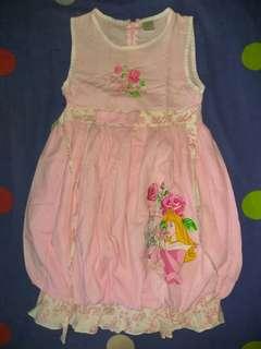 Dress anak Aurora