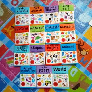(BNEW) Sticker Activity (Small) Books