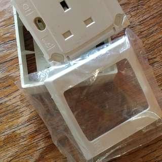 Wall Socket 3 pin