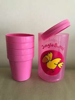 5 in 1 portable cups