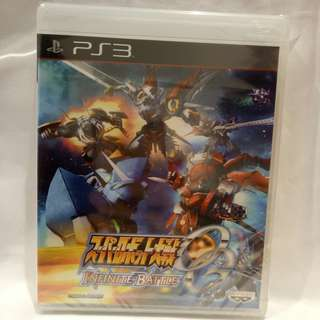 PS3 Super Robot Wars OG Infinite Battle (JAP)
