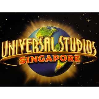 Dated Universal Studios Singapore Ticket.