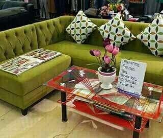 Sofabed + meja