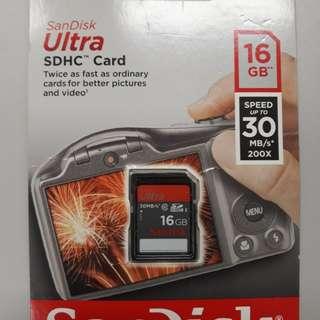 SDHC Card (16GB)