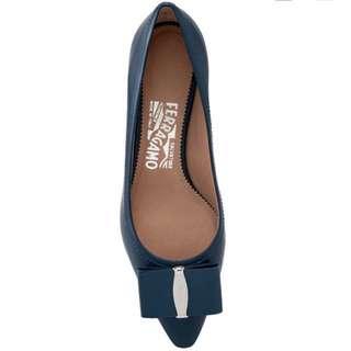 NEW Salvatore Ferragamo Heels size8 全新 真品 authentic