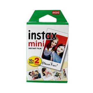 Instax film/ Fuji film/ Cute white film
