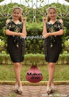 dress w/ zipper side