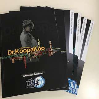 ($80ALL) Koopa Koo & Dick Hui DSE Maths Notes (M1)