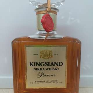 日本古酒 Kingsland Nikka whisky 威士忌 700ml
