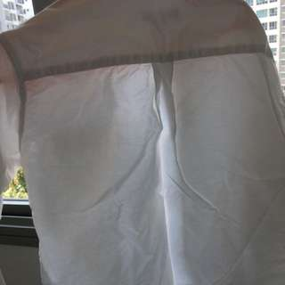 White shirt Long sleeve used once for wedding