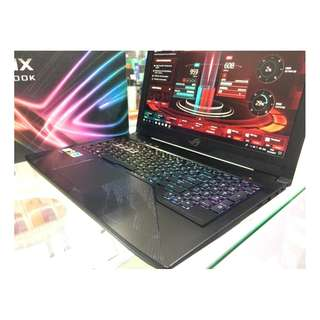 LAPTOP / NOTEBOOK ASUS ROG GL503VM GZ294T RESMI Black