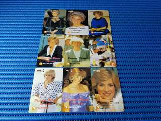 Pacificnet Princess Diana 1961-1997 Limited Edition of 2000 Commemorative Card Set ( Lot of 18 Pieces )