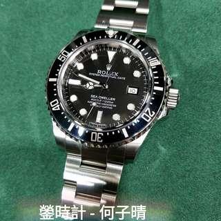 Rolex 116600 SD4000 深潛 產期極短 淨錶 90%新
