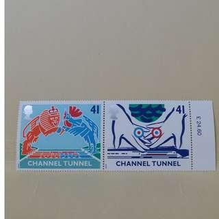 uk stamp (a set of 4)