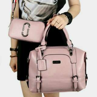 Pedro Leather Bag Original (Pink Smoke)