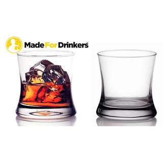 Thick Wall Whiskey Glasses (set of 6)