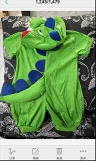 Dinosaur romper #Fesyen50