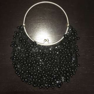 Beads Bag in Black