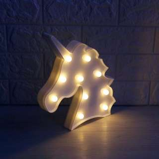UNICORN HEAD LAMP 🦄✨