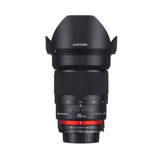 Samyang 35mm f1.4 AS UMC Lens (Canon, Nikon AE and Sony E Mount) *NEW*