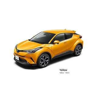 Brand New Toyota C-HR Hybrid S