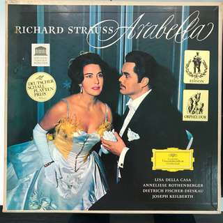 Richard Strauss Arabella Opera Lisa Della Casa DG 2709013 Big Tulip 3-LP box set