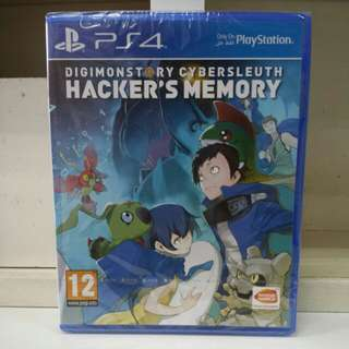 PS4 Digimonstory Cybersleuth Hacker's Memory