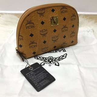 MCM Stark Pouch Semi - Authentic
