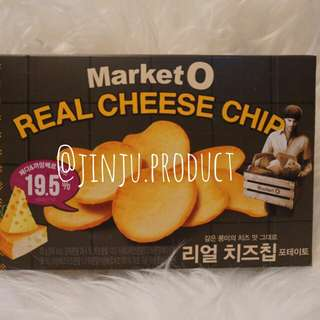 [KOREAN SNACK]market O real cheese chip