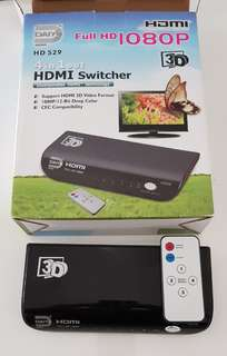 4 in 1 output HDMI Switcher