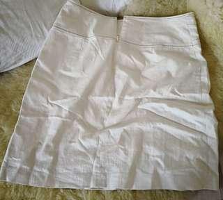 Preloved size S office skirt