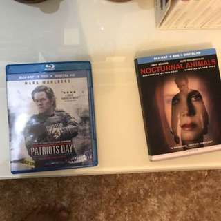 (Cheapest) Patriots Day & Nocturnal Animals Blu-ray