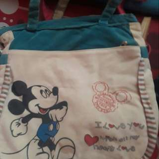 Shoulder bag mickey mouse