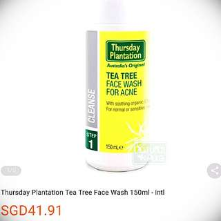 Thursday Plantation Tea Tree Daily Facial Wash