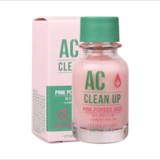 💕Etude House AC Clean Up Pink Powder Spot