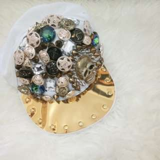 studded hat glamour