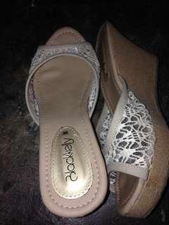 Sandal Wedges Wanita #FISIPUNIS