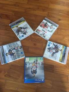PS3 and PS4 FIFA collection