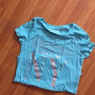 Aeropostale skyblue shirt