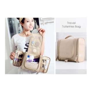 Travel Toiletries Bag Tas kosmetik organizer & peralatan mandi FTS057