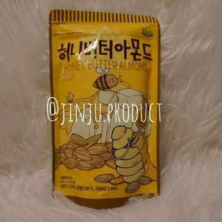 [KOREAN SNACK]TOM'S FARM honey butter Almond 250gr