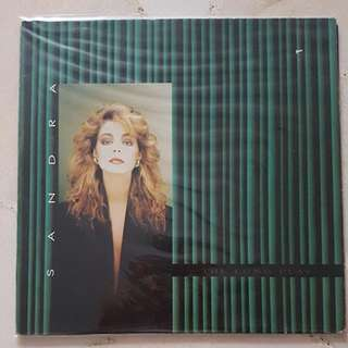 Sandra The Long Play Album LP Vinyl