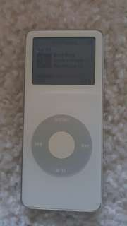 First Ipod Nano. 1GB. Rare.