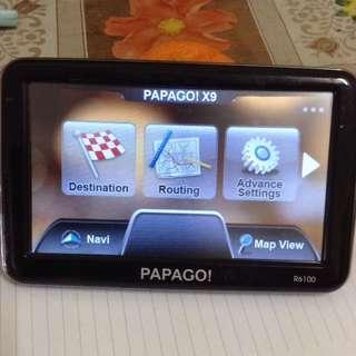 Papago GPS Console