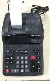 CASIO Calculator + Paper